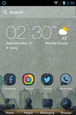 android theme 'Magic Legend'