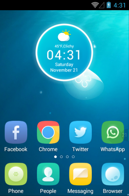 android theme 'Jellyfish'