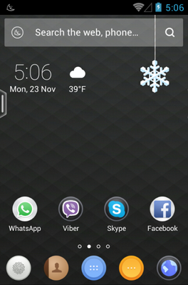 android theme 'Pinko'