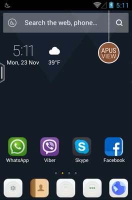 android theme 'Real Life'