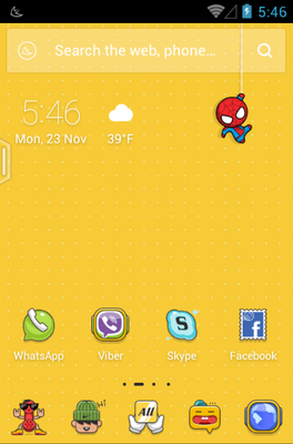 android theme 'Cartoon Party'