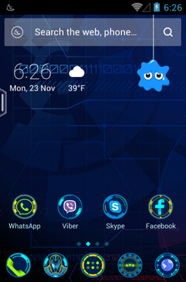android theme 'New Horizons'