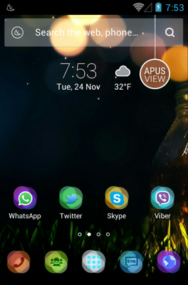 android theme 'Halo'