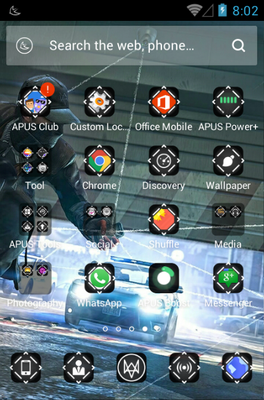 City Rulers android theme application menu