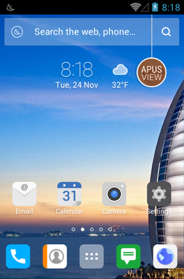 Hello Dubai android theme