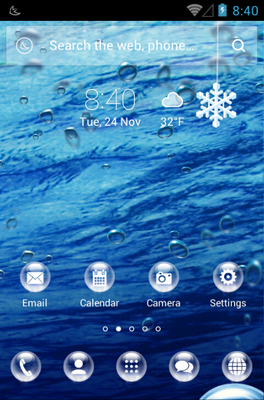 android theme 'Drops'