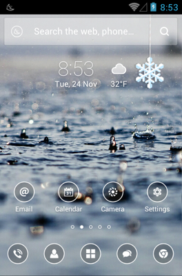 android theme 'Simple'