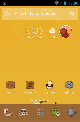 android theme 'The Stone Age'