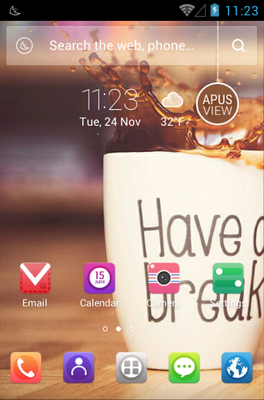 android theme 'Have a Break'