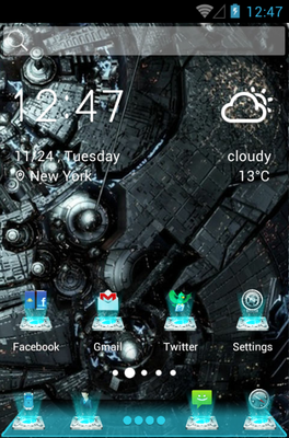 android theme 'Outer Space'