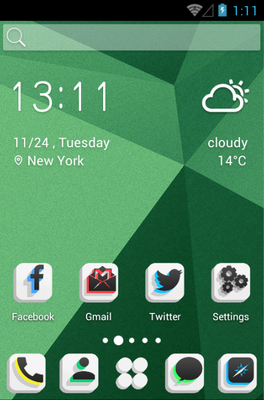 android theme 'Quadro Blow'