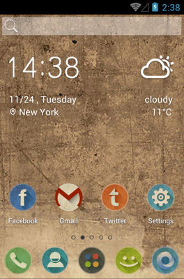 android theme 'Retro'