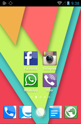 android theme 'Essential COLOR's'